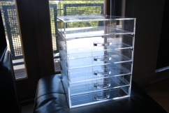 Makeup Storage Clear Cube